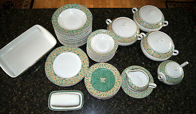 Bhs Valencia Table Plates, Soup & Cereal Bowls, Tureens, Butter Dish - Crockery • 14.50£
