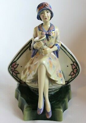 Charlotte Rhead Clarice Cliff Centenary Figure Limited Edition Kevin Francis • 79£