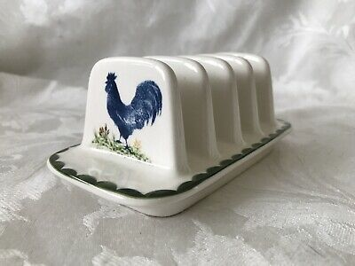 Ceramic Jack's Farm Pottery Toast Rack By Wood And Sons • 9.99£