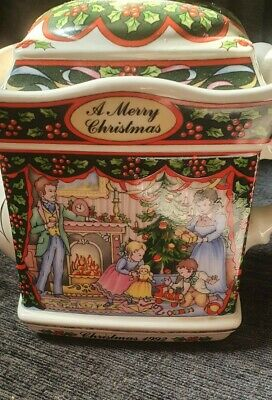 Sadler Teapot Merry Christmas And A Happy New Year. • 22£
