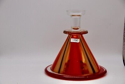 Waterford Evolution Hand-made Art Glass Candlesticks Moroccan Inspired. • 30£