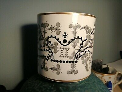 Wedgwood Richard Guyatt Queen Elizabeth 11 Coronation 1953 Mug Black / Gold • 35£