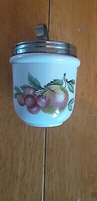 Wedgewood Small Egg Coddler + 1 Free Small Royal Worcester Egg Coddler • 4.20£