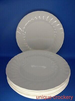 6 X Churchill Chelsea Dinner Plates 25 Cm Diameter • 24£