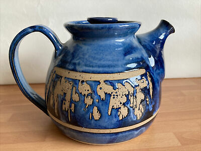 Early Bentham Pottery Teapot - Icicle Design • 20.20£