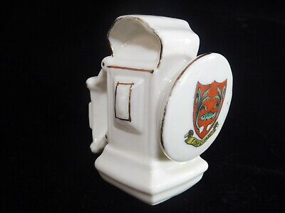 Shelley Crested China Antique Style Bicycle Lamp 342 Rd No 664308 • 20£