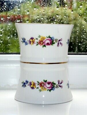 RARE Vintage Abbeydale China Pot Duffield Derbyshire. Floral Pattern COLLECTABLE • 12.50£