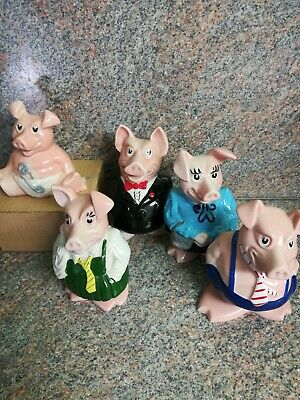 Wade Full Set Natwest Pigs Excellent Condition • 29.60£