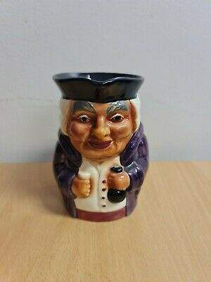 Genuine Staffordshire Hand Painted Shorter & Sons Toby Jug  • 2£