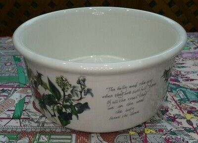Portmeirion The Holly And The Ivy Christmas Serving Bowl / Dish • 12£