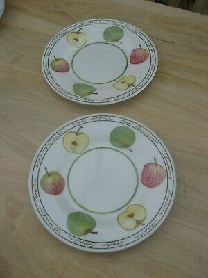 PAIR Of ROYAL STAFFORD APPLE 8.25 Inch SALAD PLATES • 9.99£