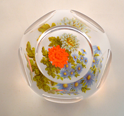 Whitefriars Rare Experimental Floral Paperweight G.Baxter • 275£