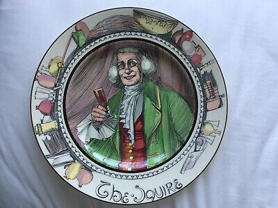 Royal Doulton 'The Squire' 10.5  Plate • 1.99£