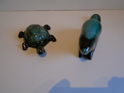 Fantastic Blue Mountain Pottery Beaver And Tortoise  • 5.99£