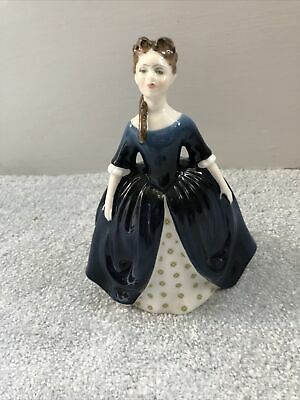 Royal Doulton Porcelain Figure Debbie HN 2385 Blue Perfect Condition • 13.50£