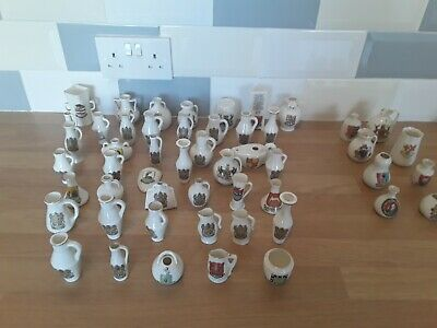 43 Small Pieces Of Goss Commemorative Pottery / Crest Ware And 8 Assorted • 31£