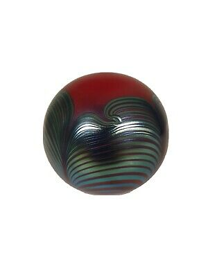 Beautuful Okra Paperweight Signed By Richard Golding • 30£