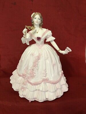 Compton & Woodhouse Royal Worcester Ltd Edition Figurine The Masquerade Begins  • 39.99£