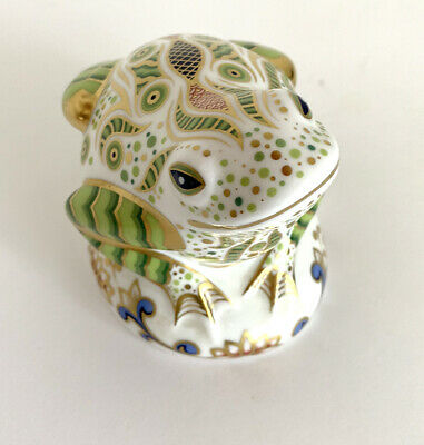 Royal Crown Derby Paperweight Collectors Guild Exclusive Edition 'Toad' • 79.95£