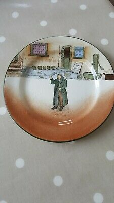 Vintage Royal Doulton  Mr Squeers  Plate Dickens Ware Used • 2£