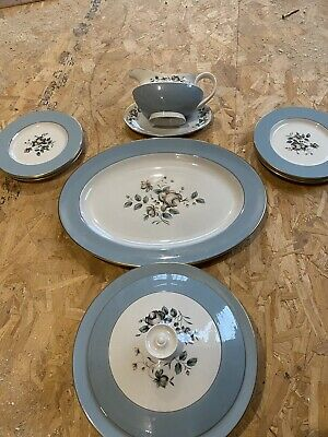 Royal Dalton Rose Elegans Dinner Service  • 20£