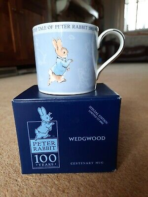 Wedgewood Peter Rabbit Centenary Special Edition Collectors Mug 100 Years Bnib • 4.99£