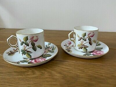 George Jones And  Sons Tea Cup And Saucer Our Roses X 2 • 9.95£