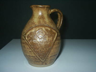 Vintage PRINKNASH ABBEY Stoneware PERRY / WINE JUG  5 1/4  Tall Excellent Cond  • 4.99£