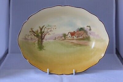 Royal Doulton Series Ware Bowl - English Cottages - Pattern D4987 • 5£