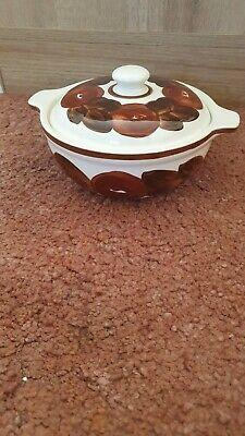 Vintage Simpsons Stockholm Lidded Dish Cobridge • 2.30£