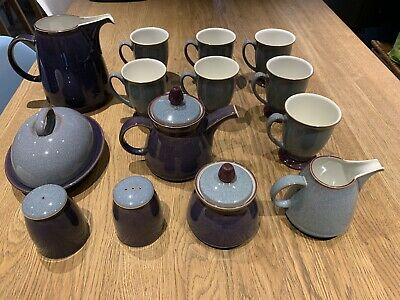 Denby Storm Collection - Excellent Condition No Chips! NO RESERVE. • 0.99£
