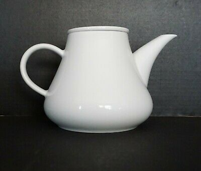 Crate & Barrel Kahla Teapot With Lid White Germany • 22.06£