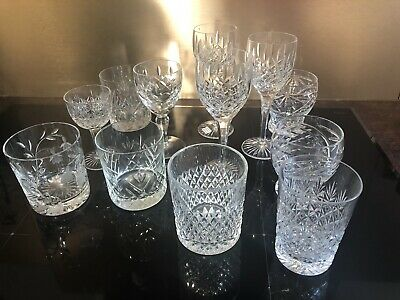 A Selection Of Crystal Glasses • 4£