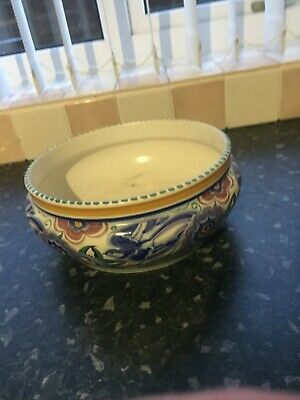 Large Poole Pottery Bowl • 5.69£