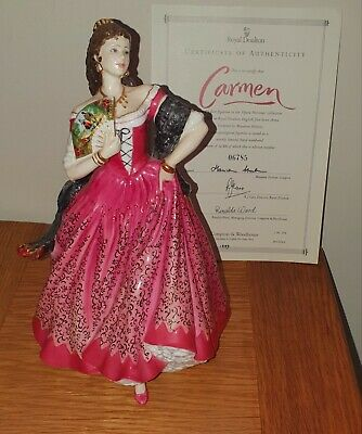 Royal Doulton 'Carmen' Limited Edition No 6785 The Opera Heroines Collection • 26£