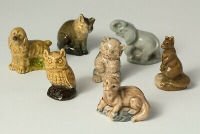 Wade Collectable Whimsies - 7 Animals Job Lot • 5£