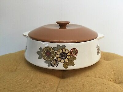 Lord Nelson Pottery Vintage Retro Casserole Dish With Lid • 23.99£
