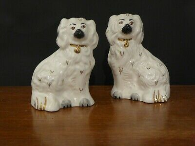 Pair Of Vintage Royal Doulton Wally Dog Spaniels 15cm Height  • 65£