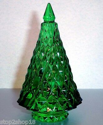 Baccarat Noel Diamant Diamond Fir Green Christmas Tree 2807392 New In Box • 290.31£