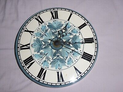 VINTAGE JERSEY POTTERY WALL CLOCK......hand Painted • 8.99£