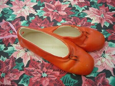 Vintage Porcelain Wall Hanging Red Shoes By Brentleigh Ware Made In England • 15£
