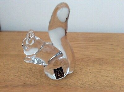 Langham Glass Squirrel Paperweight Handmade In England • 12£