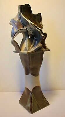 Pottery Abstract Sculpture Studio Piece. • 40£