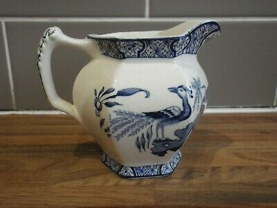 Wood & Sons Blue White Jug • 9.99£