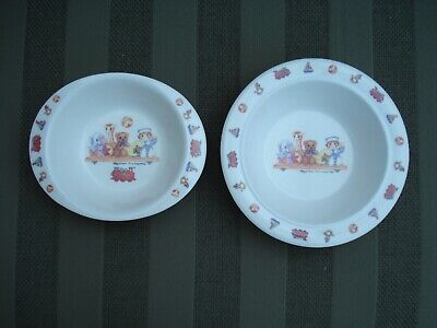 2 Vintage Margaret Stevens Children's Melamine Bowls - The Nursery Shelf 1997 • 7.50£