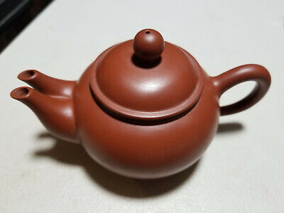Chinese Clay Teapot With Double Sprouts • 18.41£