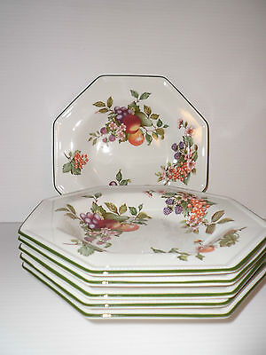 8x Johnson Brothers Fresh Fruits Good Condition Tea Plate 6inches • 18£