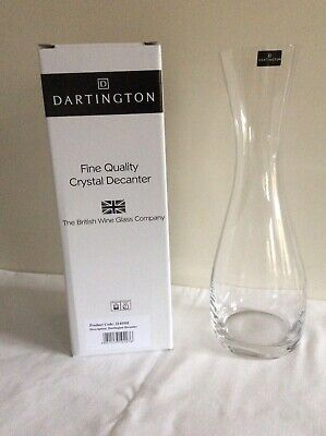 NEW Dartington Crystal Decanter In Box - Glass / Carafe / Drinks / Wine / Water  • 5£