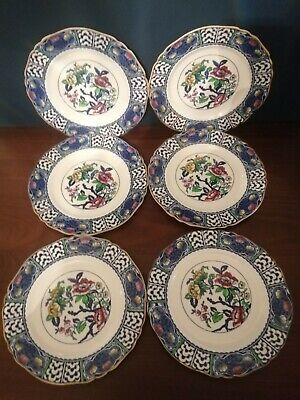 Alfred Meakin Patricia Design ( Indian Tree)  Dinner Plates Set Of 6  • 10£