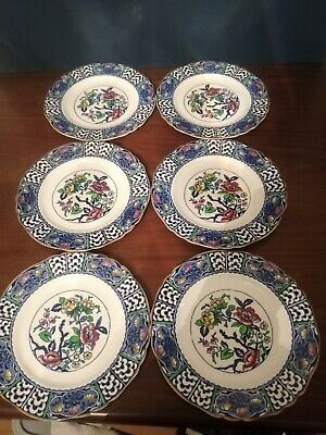 Alfred Meakin Patricia ( Indian Tree ) Salad Plates Set Of 6  • 10£